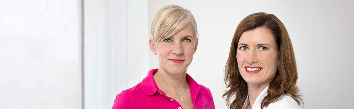 Dr. med. Anja Ogger und Sandra Beck-Lankocz